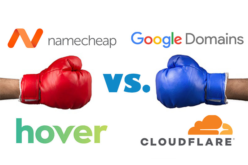 The 4 Best Domain Registrars of 2019: A Head-to-Head Comparison