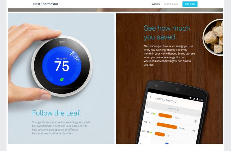 nest thermostat ux design